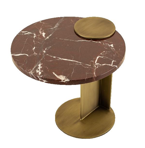 Mesa lateral AXEL de encaixe