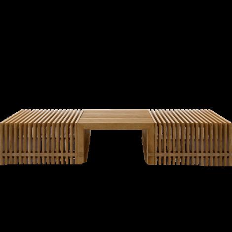Mesa de centro NEST madeira
