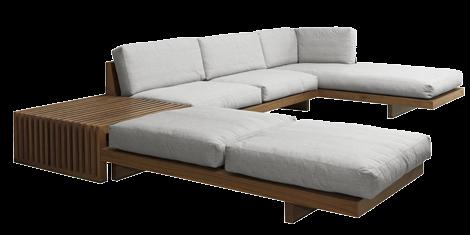 Sofá BOSSA NOVA com mesa NEST